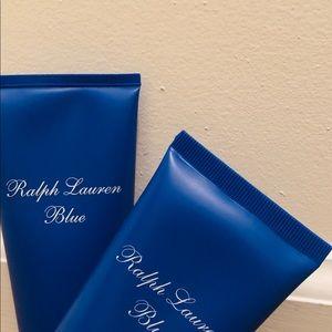 Ralph Lauren Blue shower gel and body gel